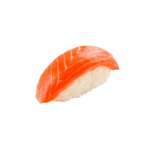 Нигири с коп. лососем